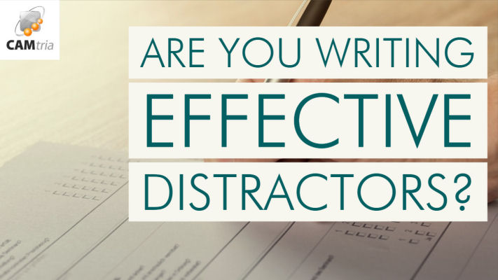 Writing Better Distractors For Your Multiple-Choice Tests