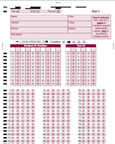 CAMtria - How to reduce your school's costs on Scantron forms